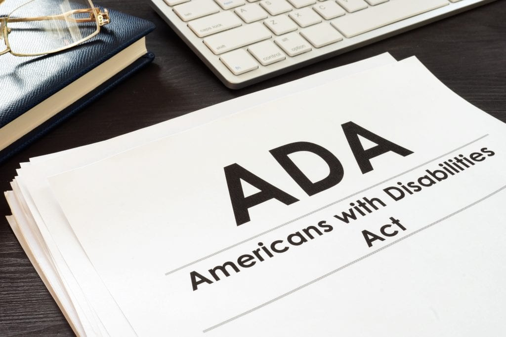The Americans with Disabilities Act:  Ways to Improve Accessibility within Your Business