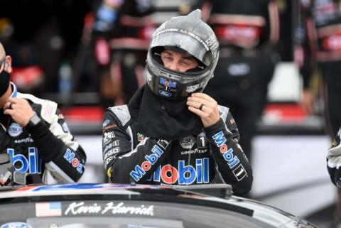 Late drama allows Kevin Harvick to steal another win
